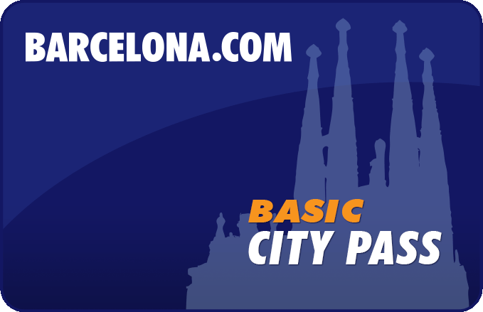 Barcelona City Pass - Skip the line entrance - Sagrada Familia - Park Guell - Aerobus - Hop on hop off touristic bus