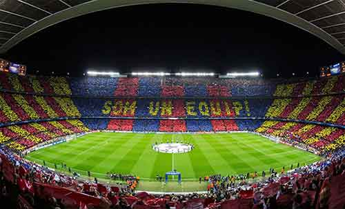 FC Barcelona champions league football tickets