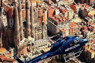 Barcelona Sky Tour  - Helicopter ride over Barcelona
