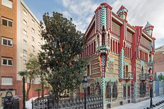 Casa Vicens Early Morning Visit And Park Güell Guided Tour