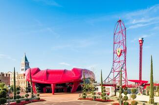 PortAventura Park & Ferrari Land - Full Day Trip from Barcelona
