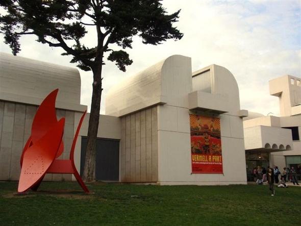 Joan Miro Foundation - Joan Miro Foundation in Barcelona